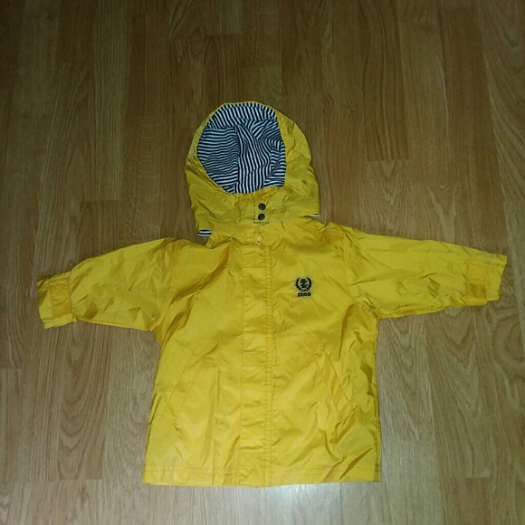 0757f41b19c9 official 5c6db ccb3d izod jacket yellow toddler coat with hood size ...